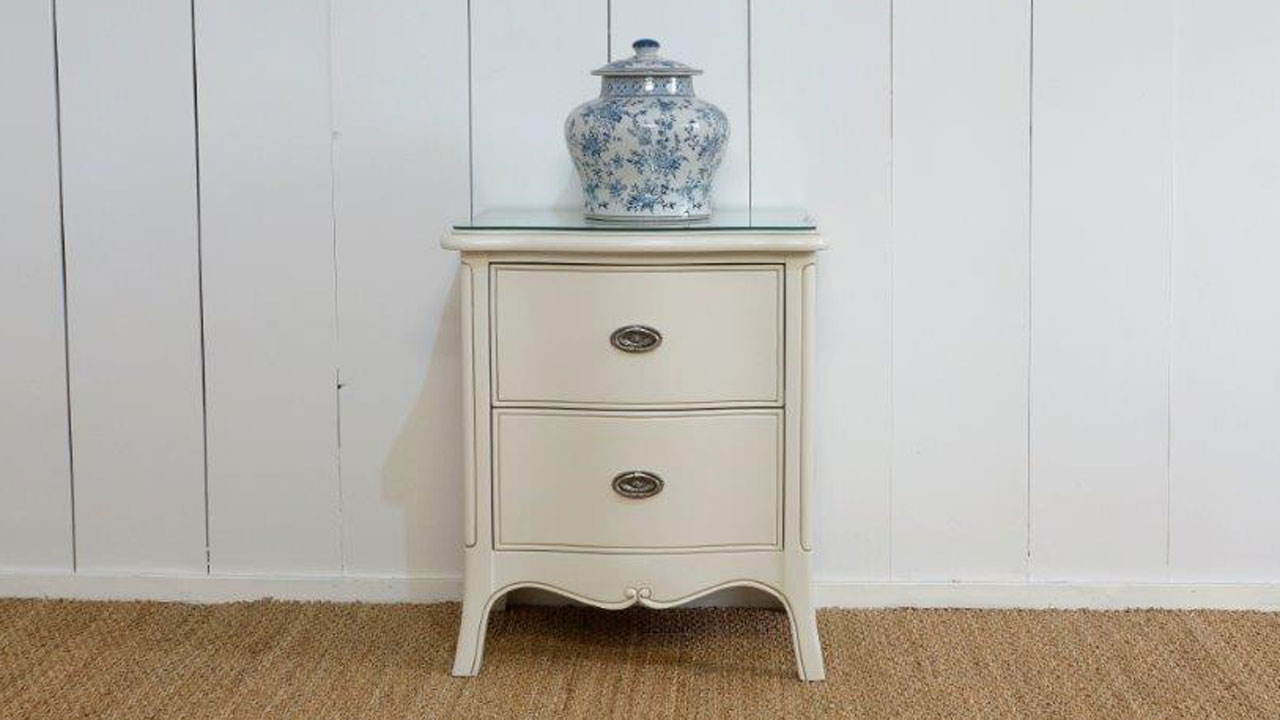 Provence Bedside Cabinet - Front View