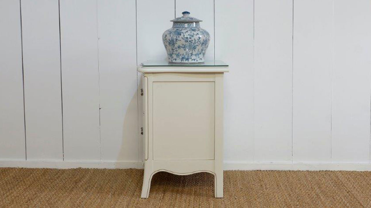 Provence Bedside Cabinet - Side View
