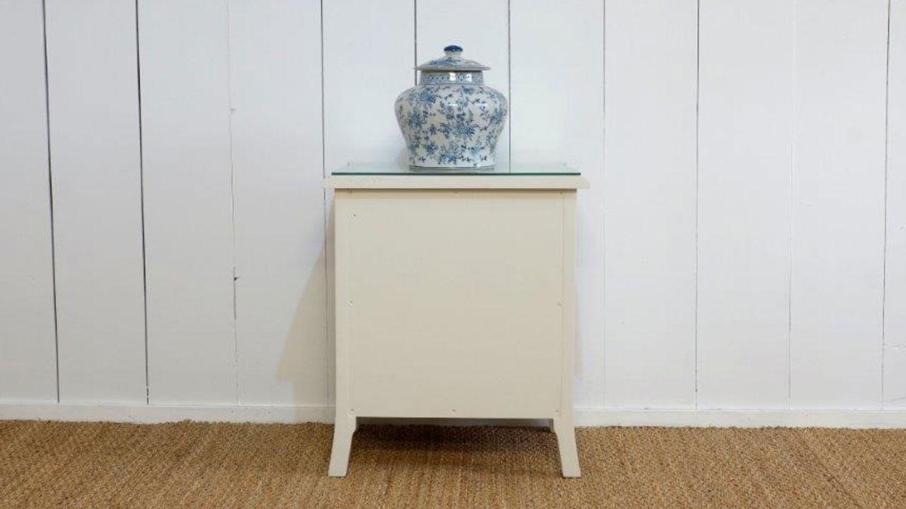 Provence Bedside Cabinet - Back View