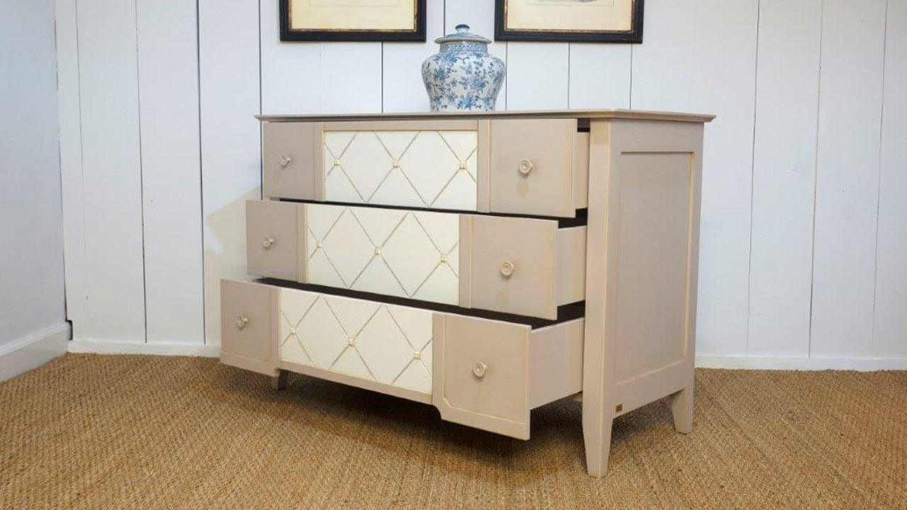 Siguier Chest (ex display) - Angled View - Drawers Open