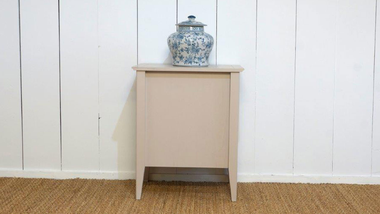 Siguier Bedside Table (ex display) - Back View