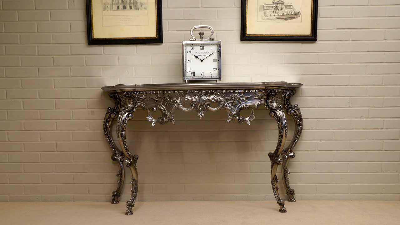 Gilt Console Table (ex display) - Front View