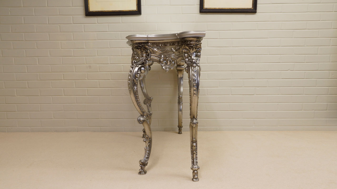 Gilt Console Table (ex display) - Side View