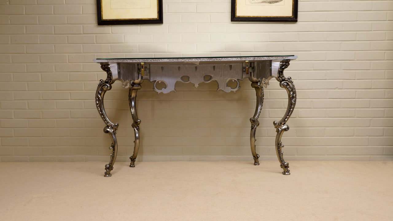 Gilt Console Table (ex display) - Back View