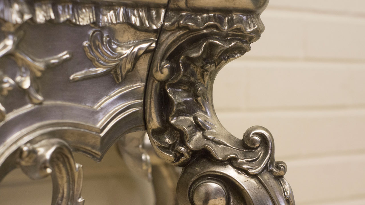 Gilt Console Table (ex display) - Detail View