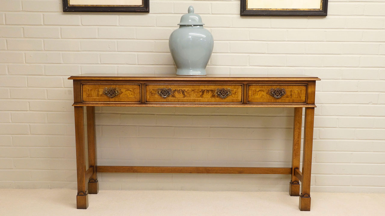 Iain James Console Table - Front View