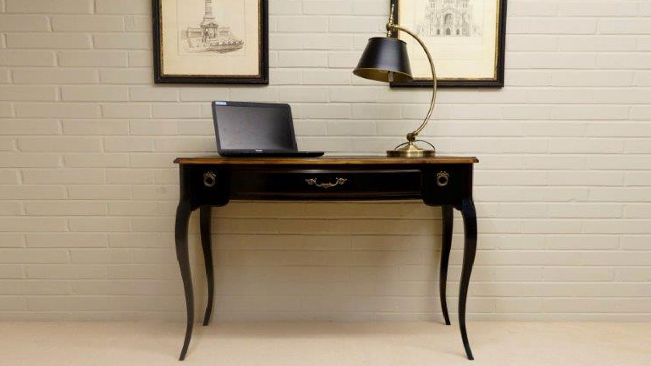 French Style Desk (ex display) - Front View