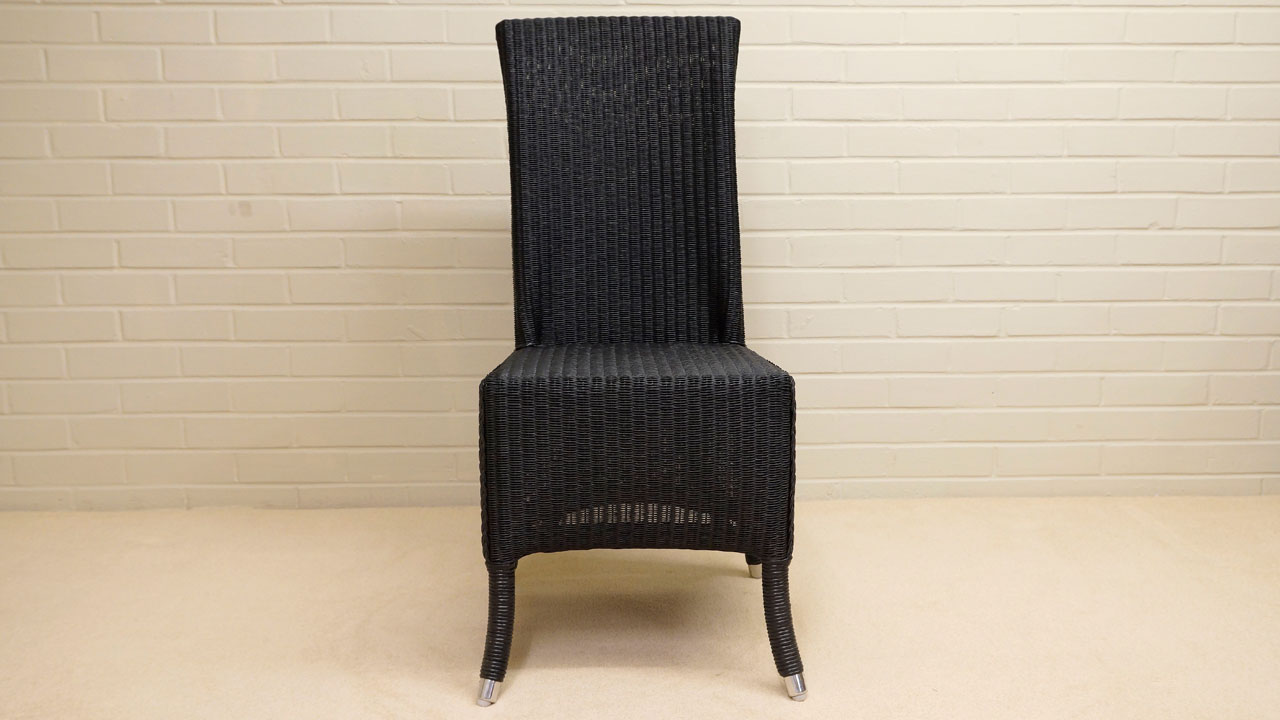 Amelie Chair - Front View - Black