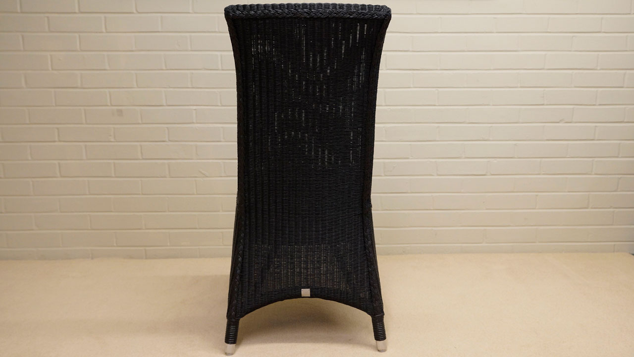 Amelie Chair - Back View - Black