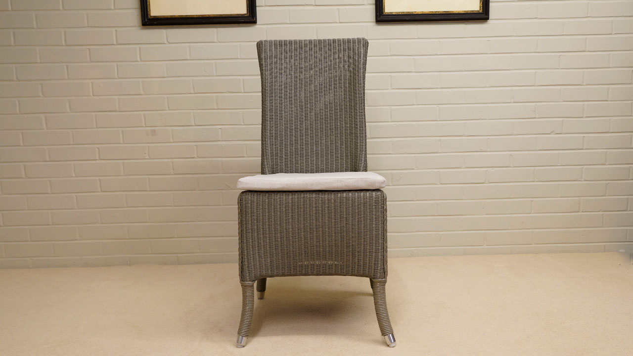 Amelie Chair - Front View - Grey