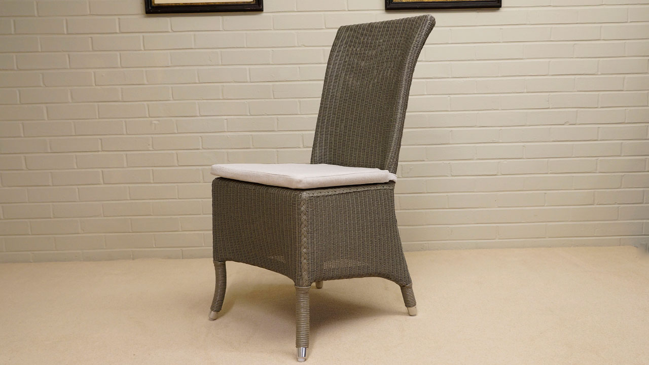 Amelie Chair - Angled View - Grey