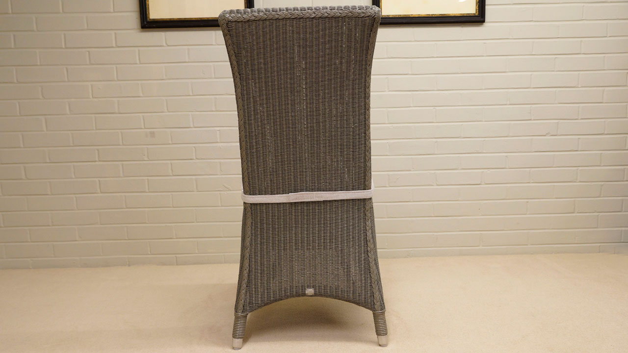 Amelie Chair - Back View - Grey