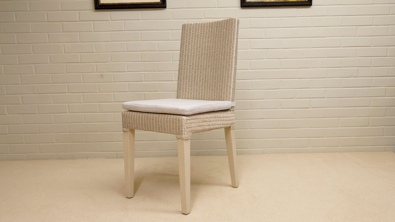 Bridget Loom Chair - Angled View
