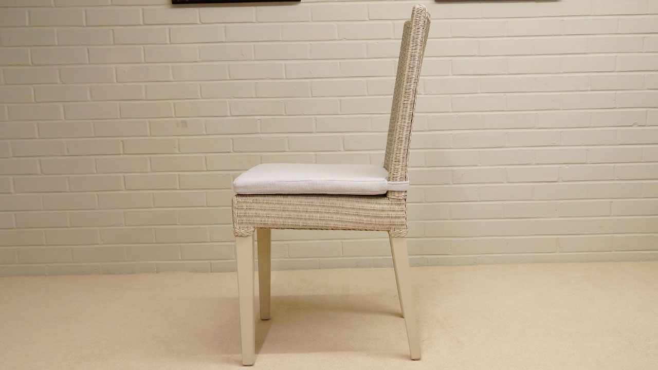 Bridget Loom Chair - Side View