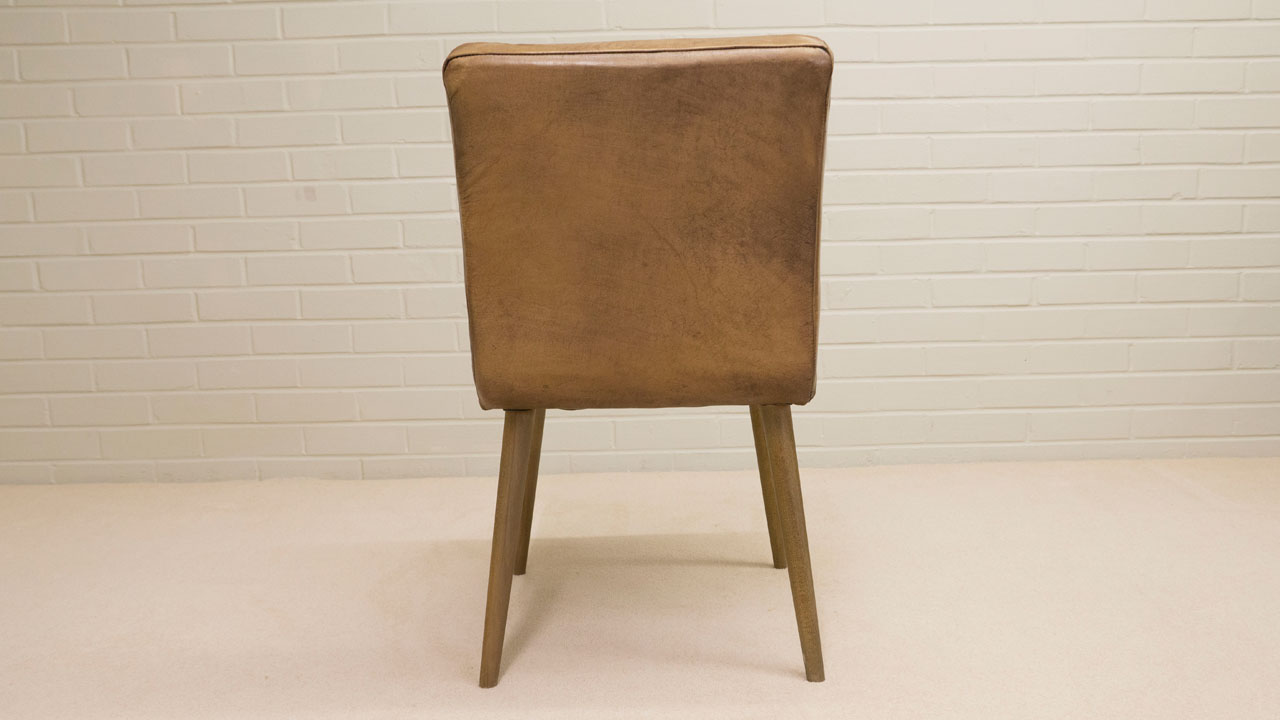Carl Wood Chair - Back View