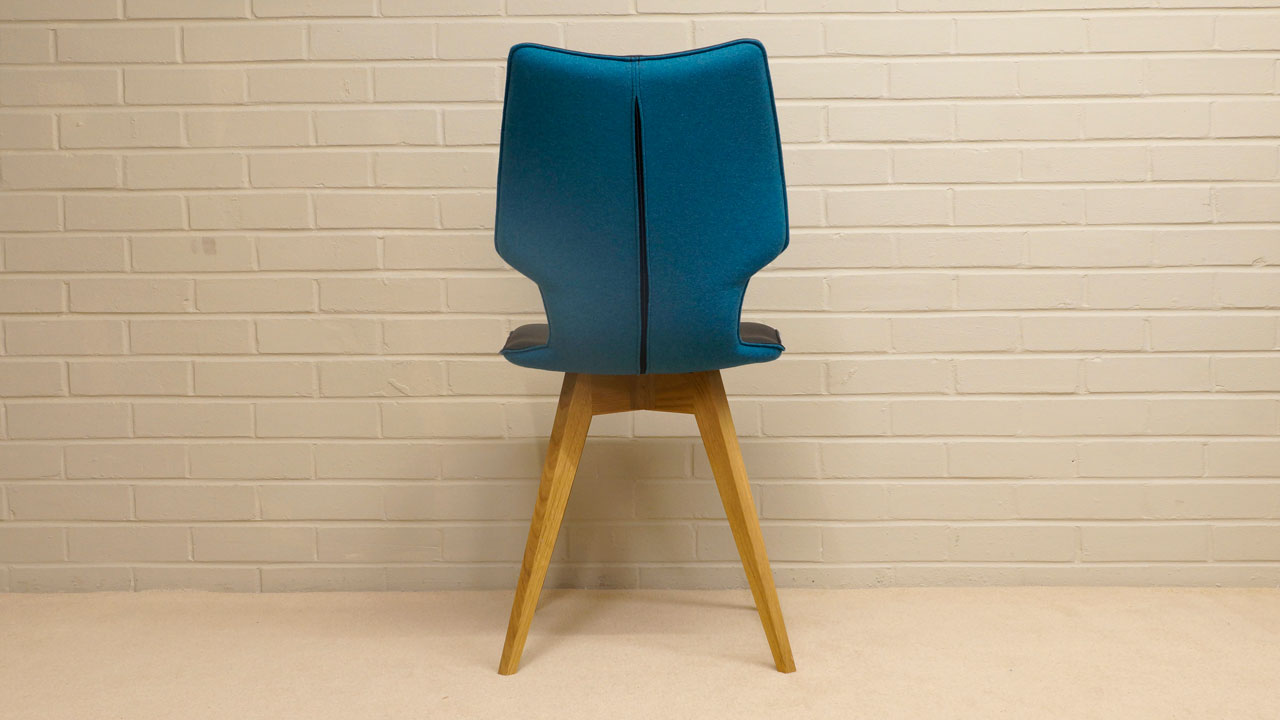 Clipper Chair - Back View
