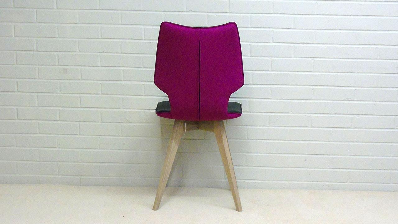 Clipper Chair - Back View - Alternative Colour