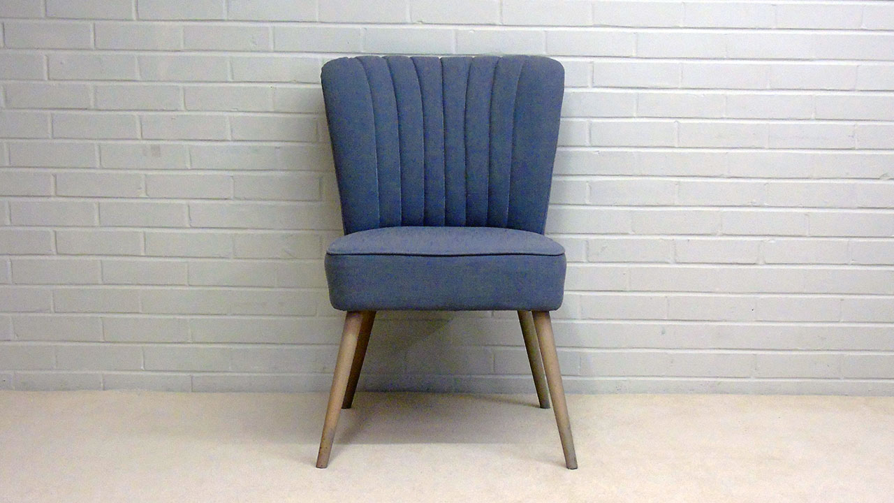 Daley Upholstered Chair - Front View - Alternative