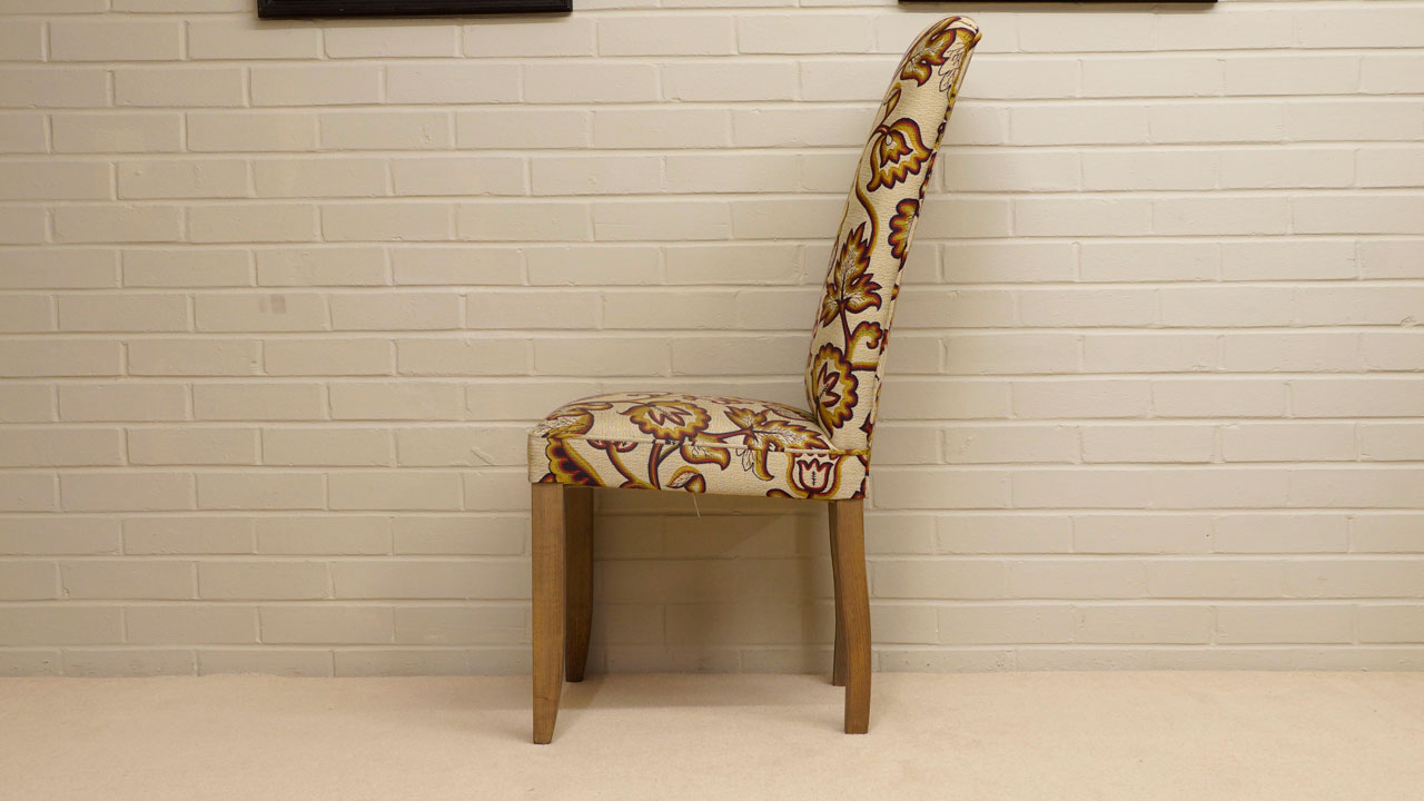 Hunstanton Dining Chair - Side View