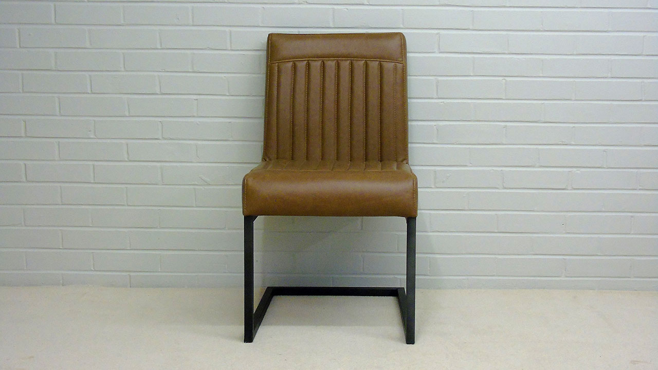 Industrial Style Chair - Front View