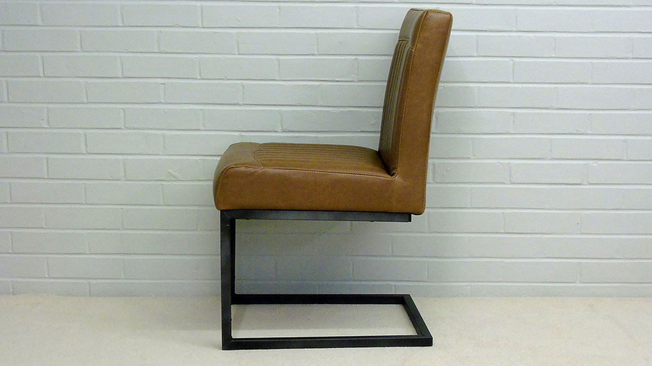 Industrial Style Chair - Side View