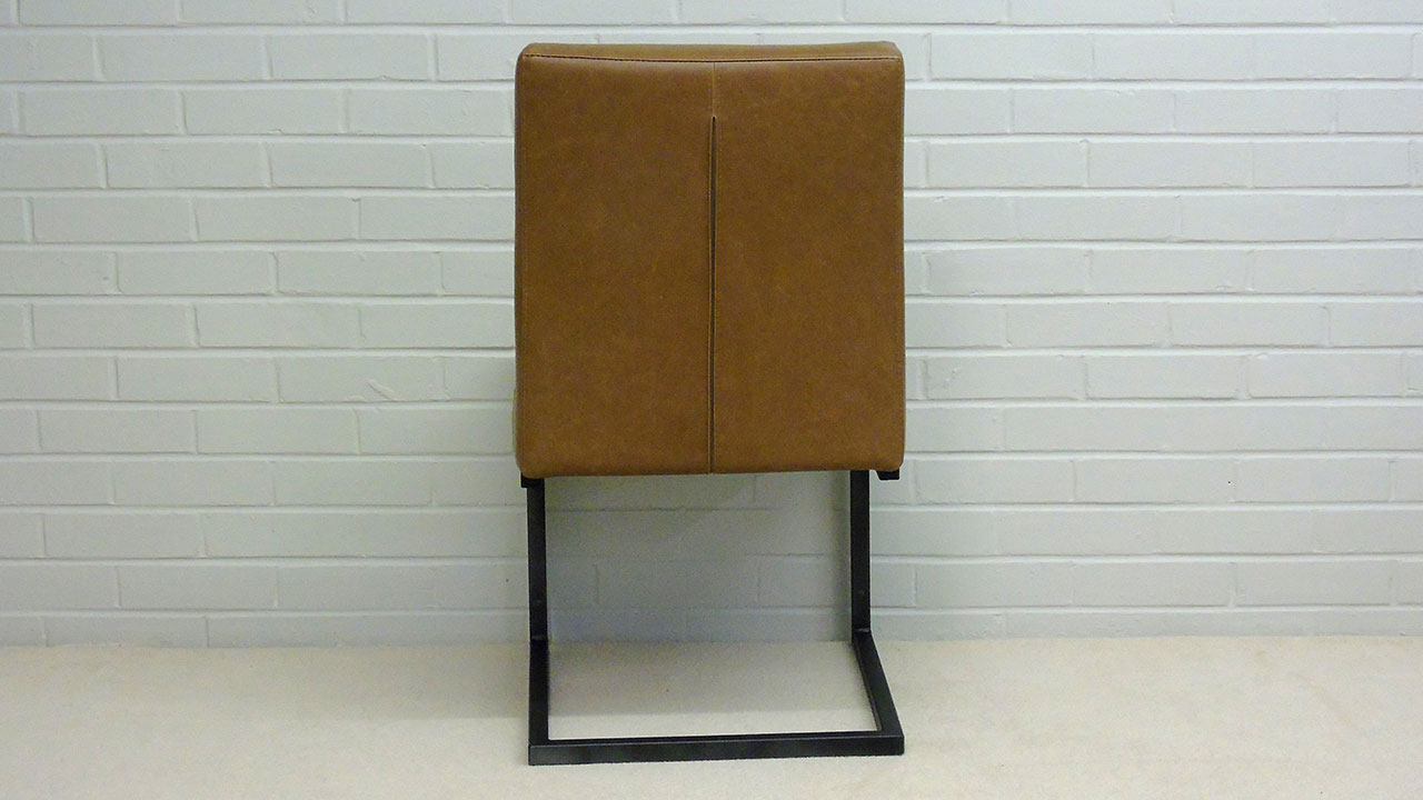 Industrial Style Chair - Back View