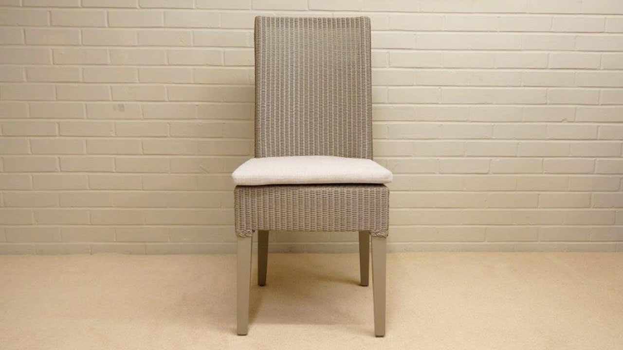 Josephine Lloyd Loom Style Chair - Front View
