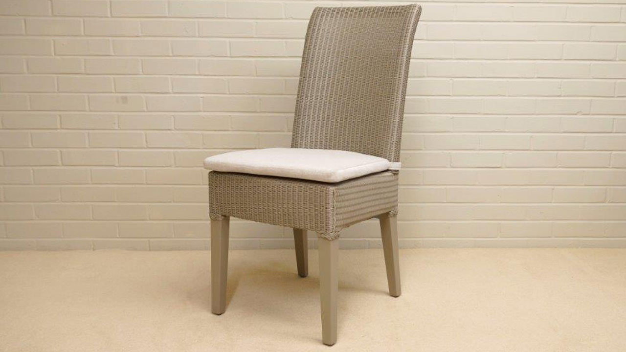 Josephine Lloyd Loom Style Chair - Angled View