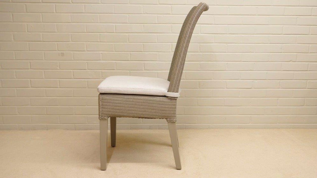 Josephine Lloyd Loom Style Chair - Side View