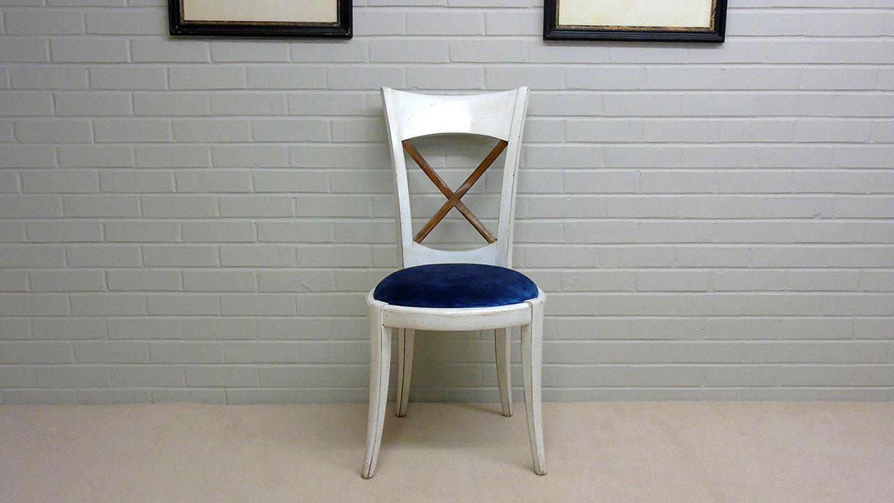 Provence Stick Back Chair - Front View
