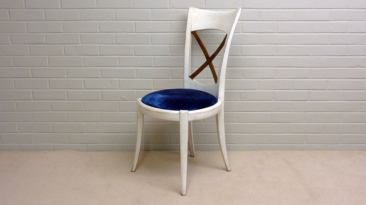 Provence Stick Back Chair - Angled View