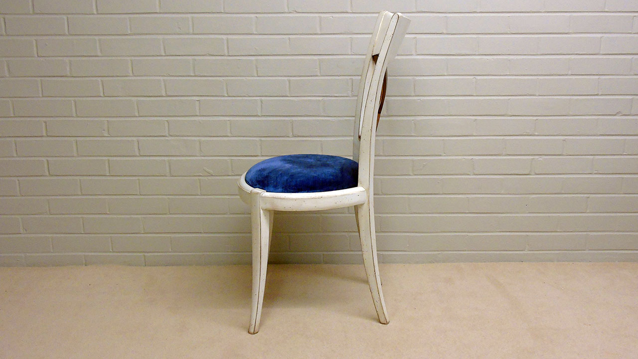 Provence Stick Back Chair - Side View