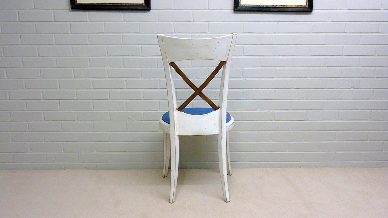 Provence Stick Back Chair - Back View
