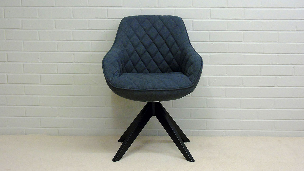 Quilted Chair - Front View