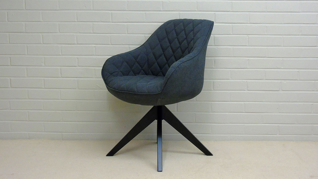 Quilted Chair - Angled View