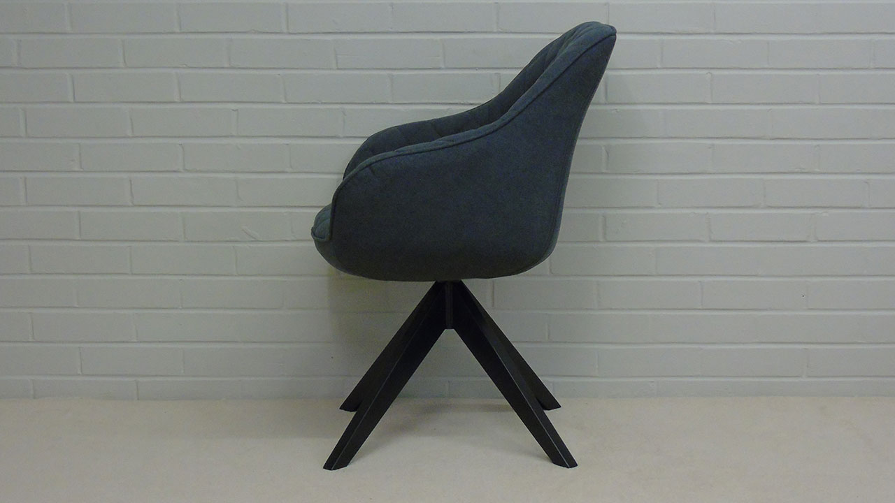 Quilted Chair - Side View