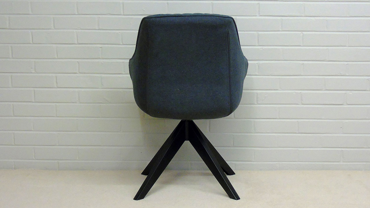 Quilted Chair - Back View