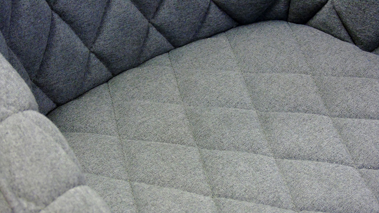Quilted Chair - Detail View