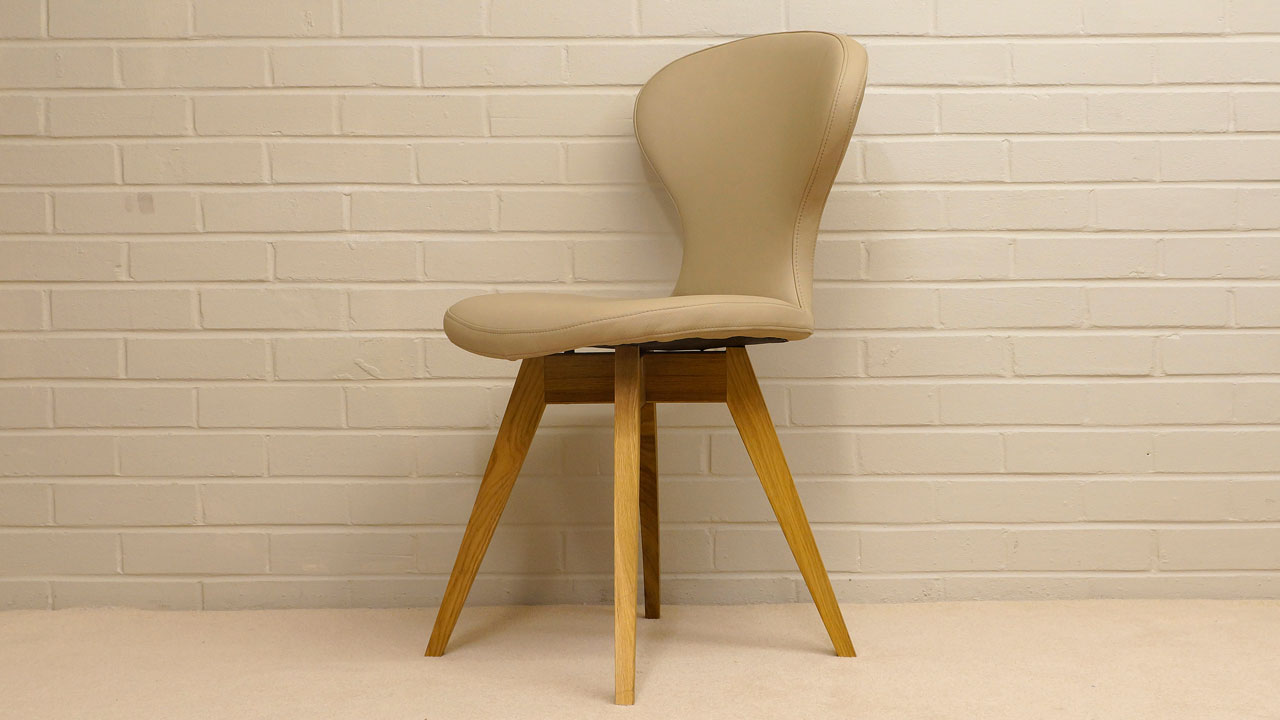 Riki Chair - Angled View