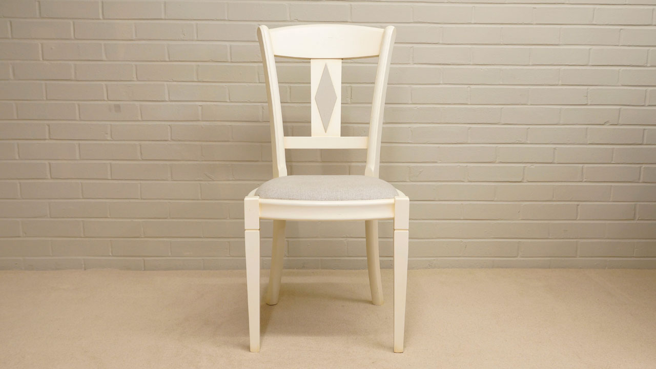 Siguier Painted Dining Chair - Front View