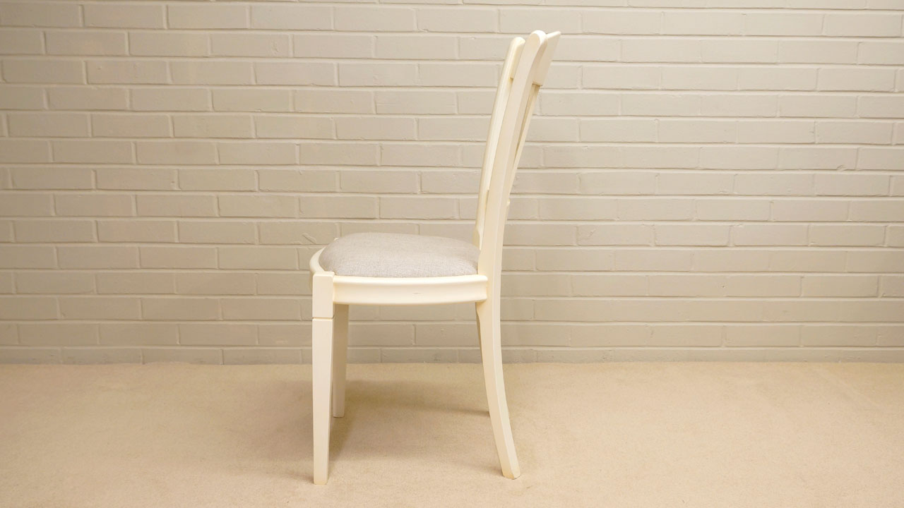 Siguier Painted Dining Chair - Side View