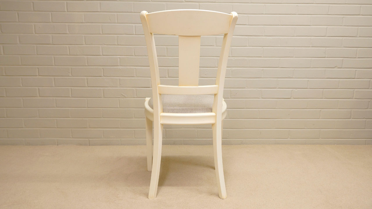 Siguier Painted Dining Chair - Back View