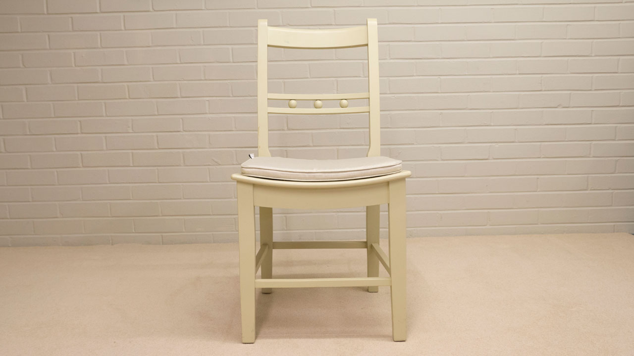 Suffolk Painted Chair (ex display) - Front View