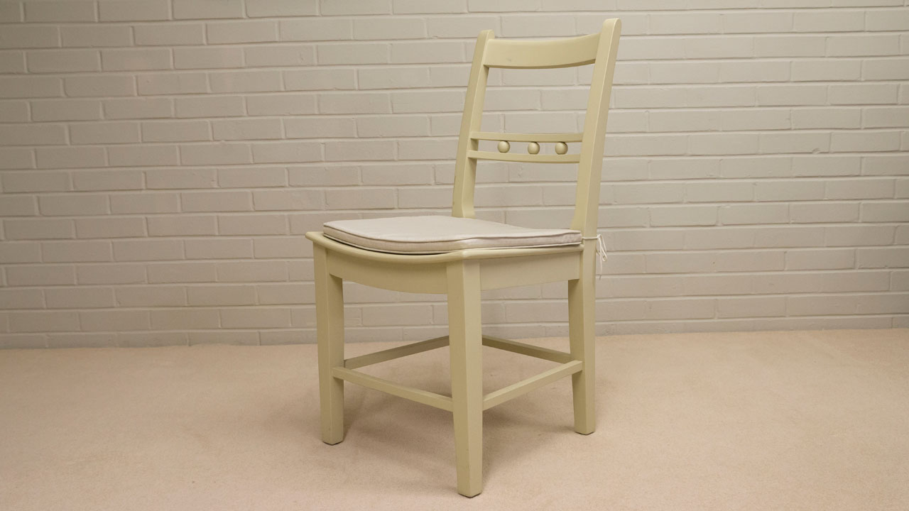 Suffolk Painted Chair (ex display) - Angled View