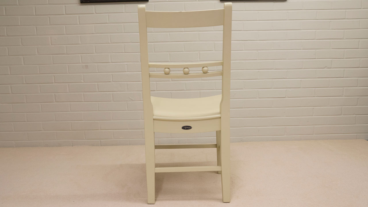 Suffolk Painted Chair (ex display) - Back View