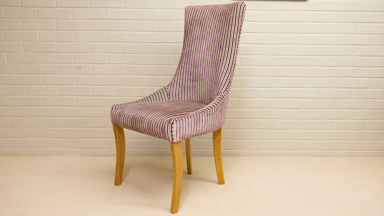 Trafalgar Upholstered Chair - Angled View