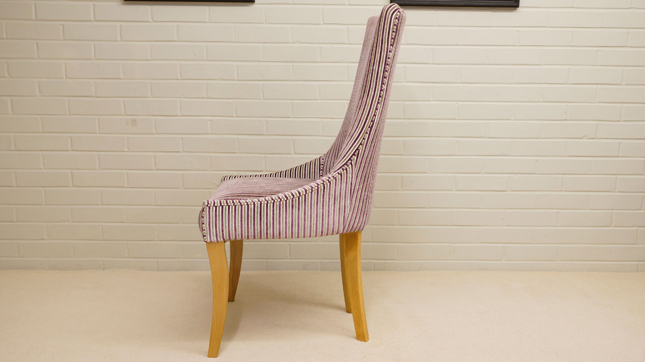 Trafalgar Upholstered Chair - Side View