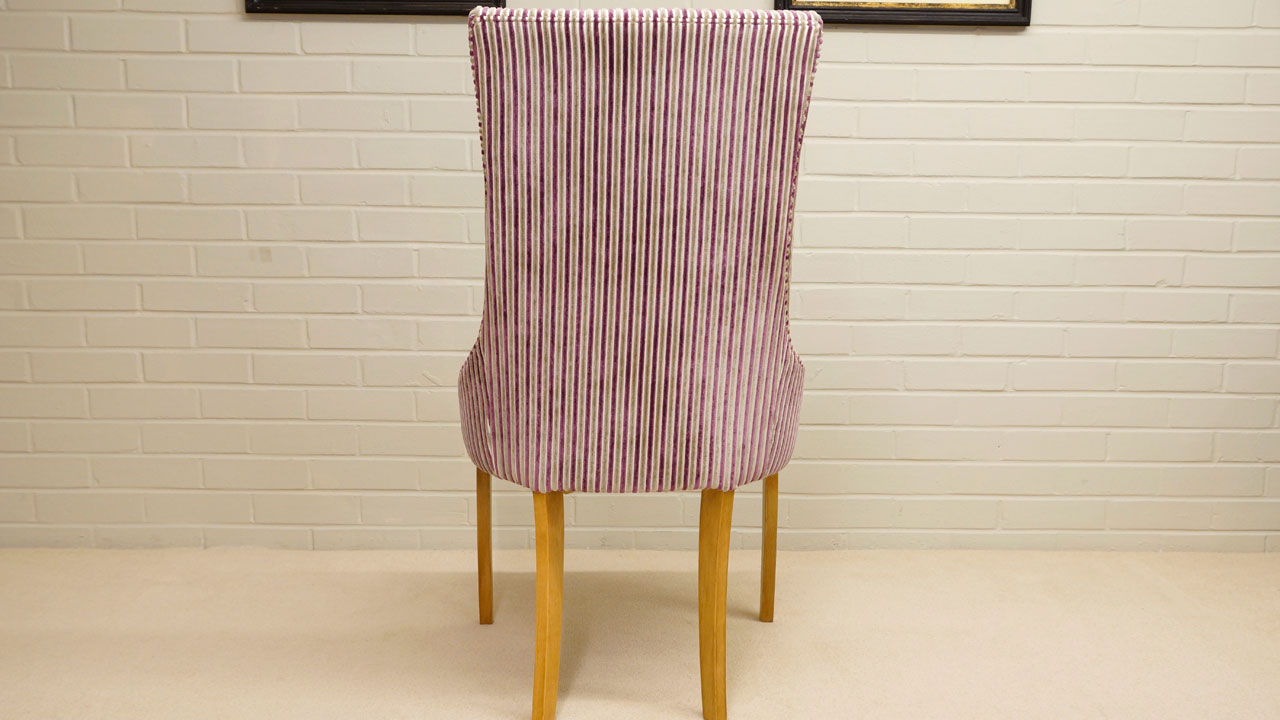 Trafalgar Upholstered Chair - Back View