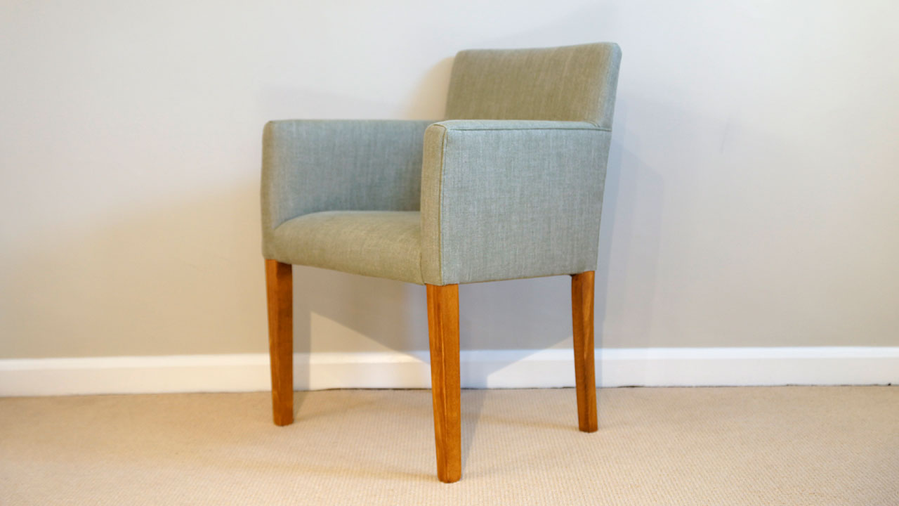 Covercraft Upholstered Dining Chair - Angled View