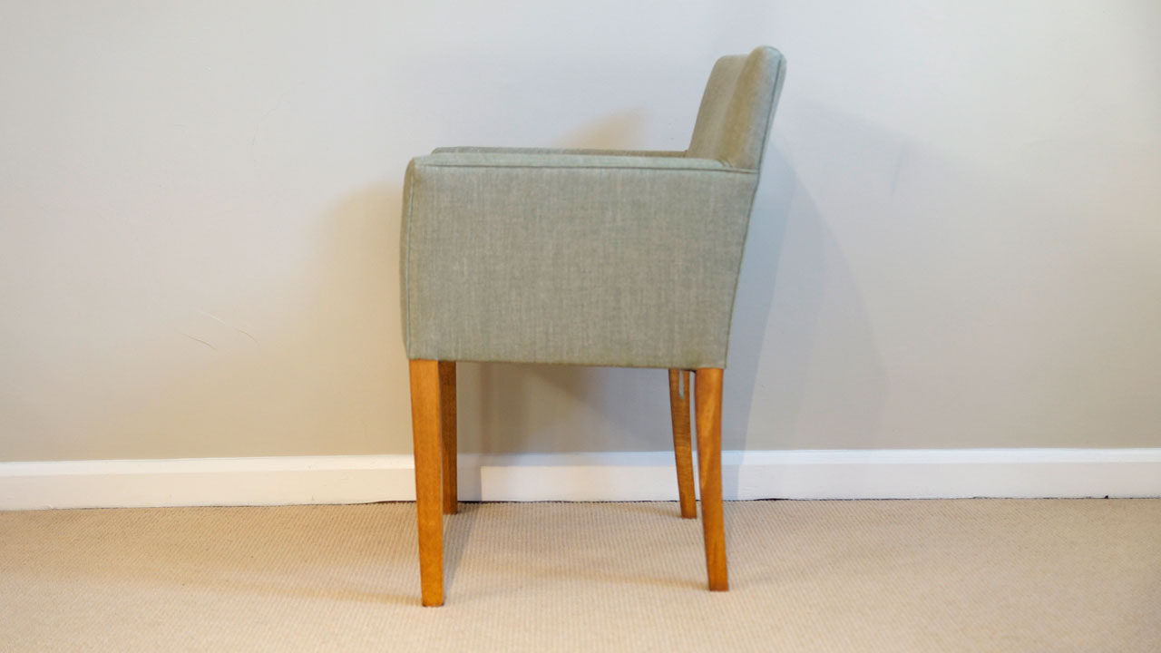 Covercraft Upholstered Dining Chair - Side View